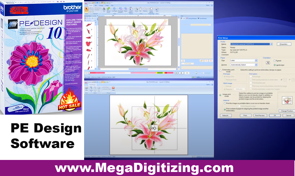 Brother-PE-Design-Embroidery Software
