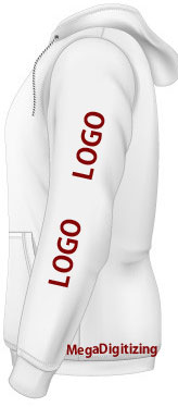 Sleeve-logo-placement