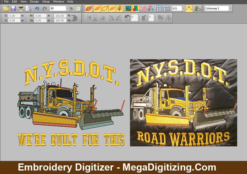 embroidery digitizer