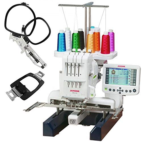 Janome-MB-4S-Commercial-4-Needle-Embroidery-Machine