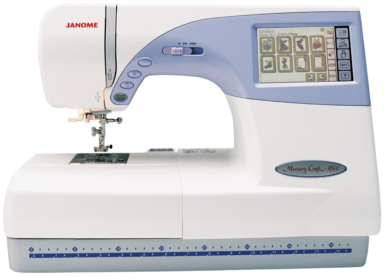 Janome Memory Craft MC 9500