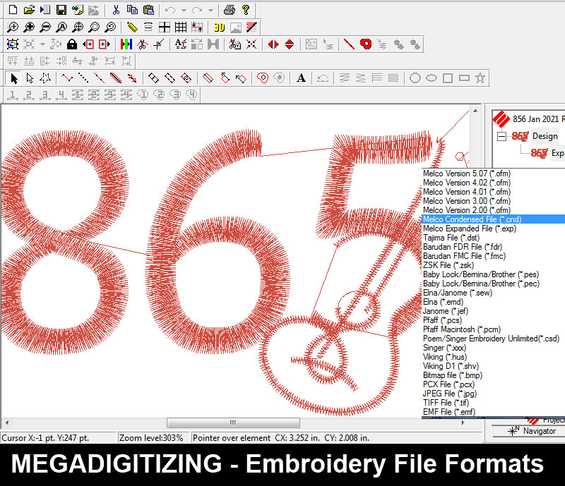 embroidery machine file formats