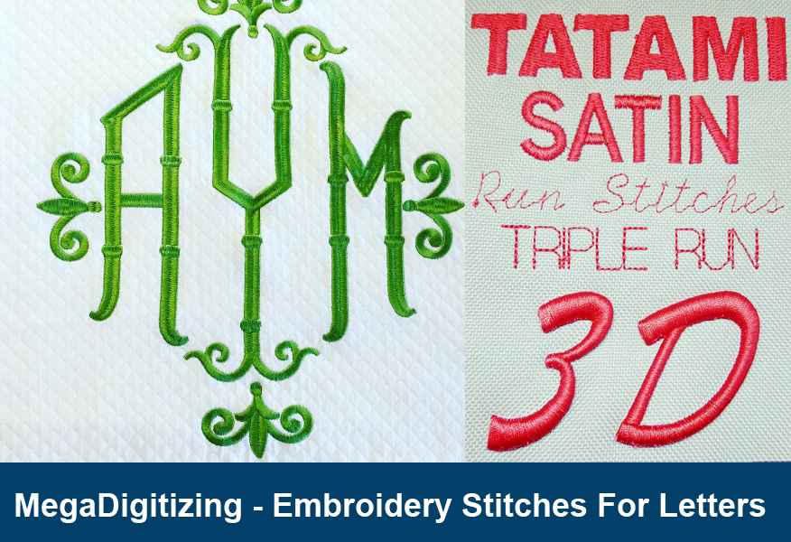 embroidery stitches for letters